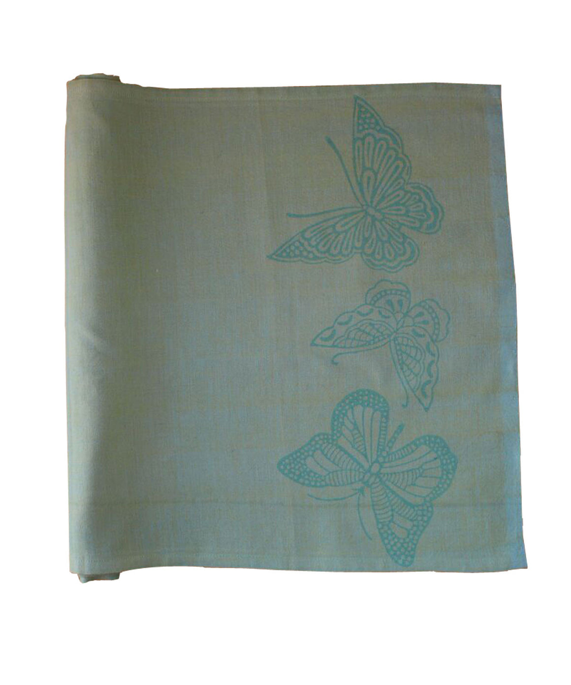 Butterflies Table Runner by Sustainable Threads