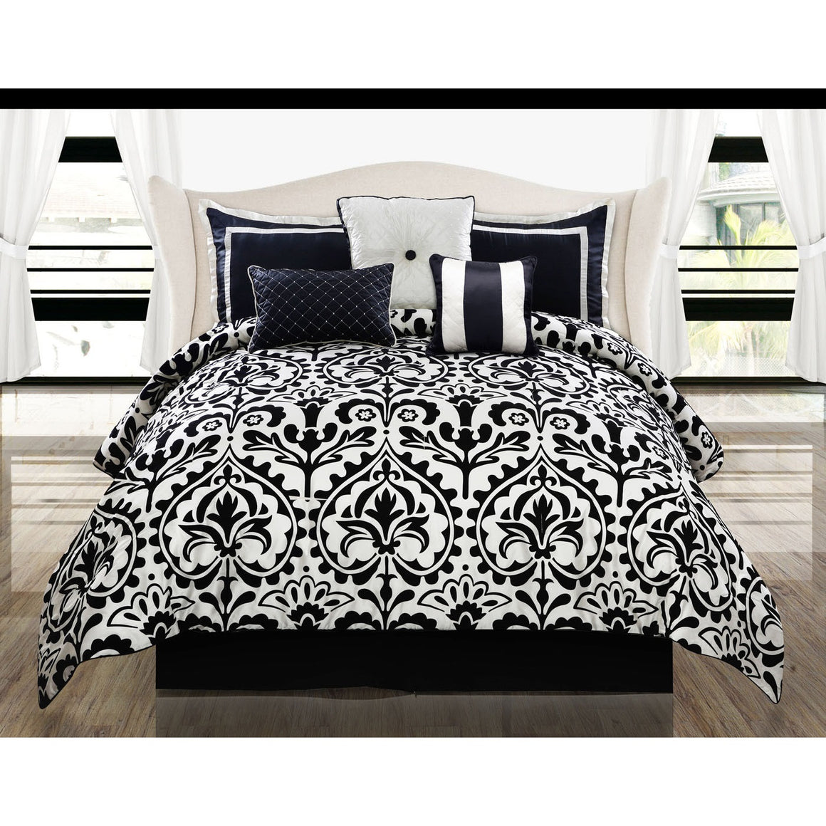 Concord Medallion Comforter Bed Set