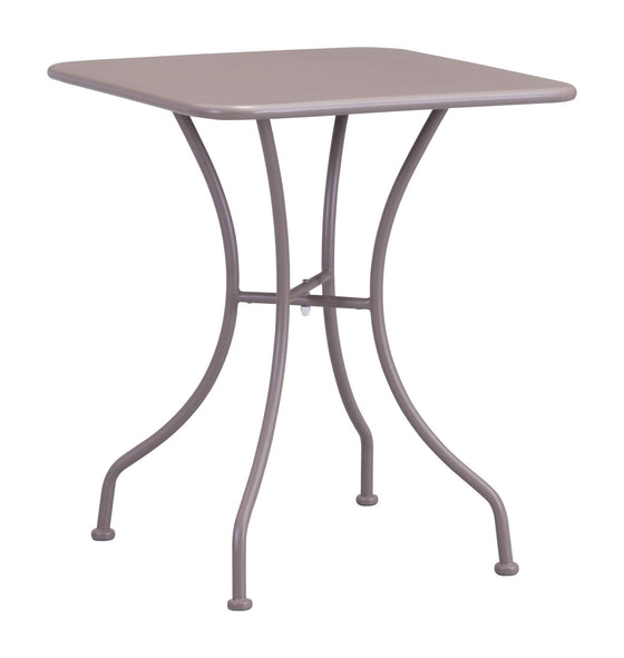 Oz Dining Square Table Taupe