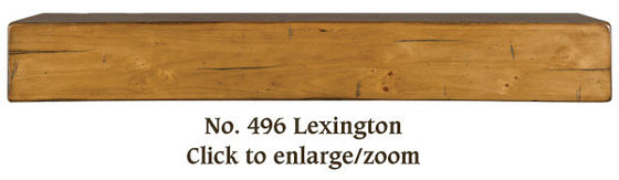 The Lexington Shelf / Fireplace Mantel 496-60-60