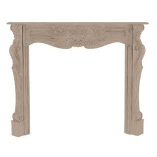 The Deauville Fireplace Mantel Unfinished 134-58