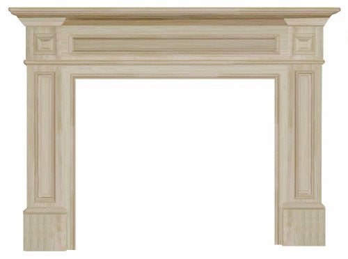 The Classique Unfinished Fireplace Mantel 140-56