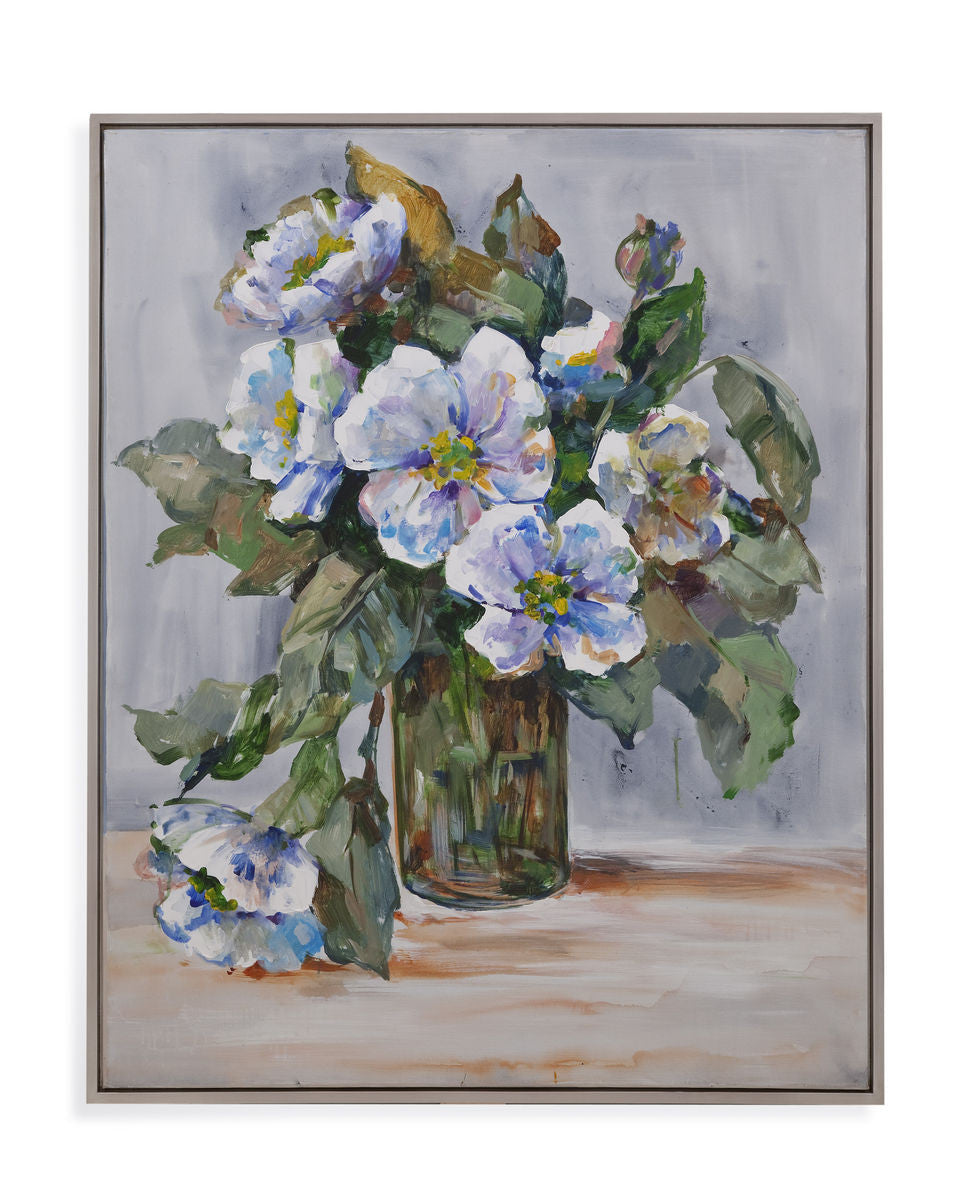 Elegant Flowers Framed Art
