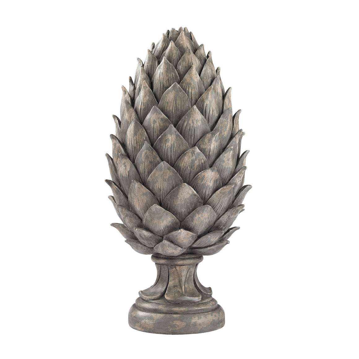Aged Grey Pine Cone 87-002 by Sterling