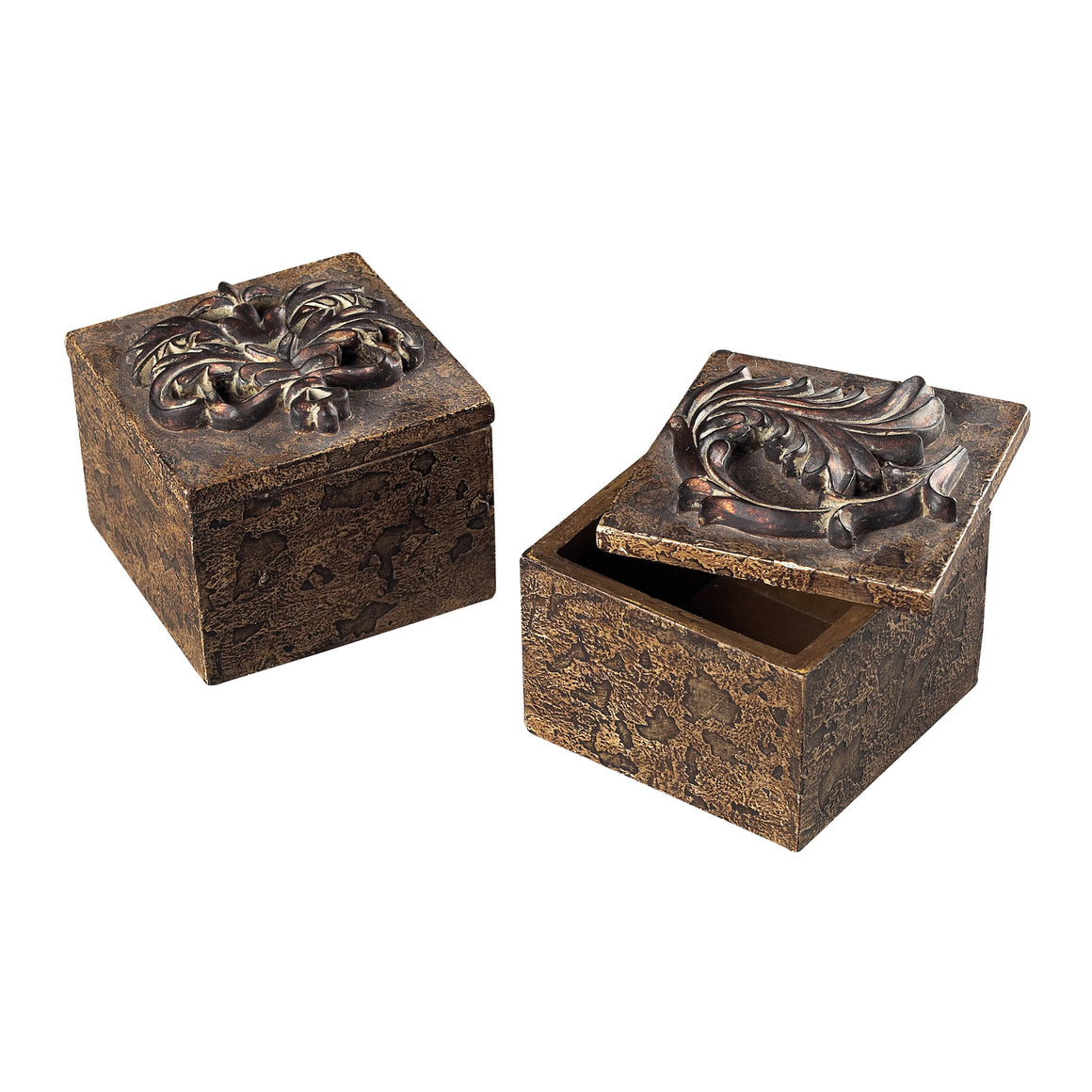 Scroll Top Keep Sake Boxes by Sterling