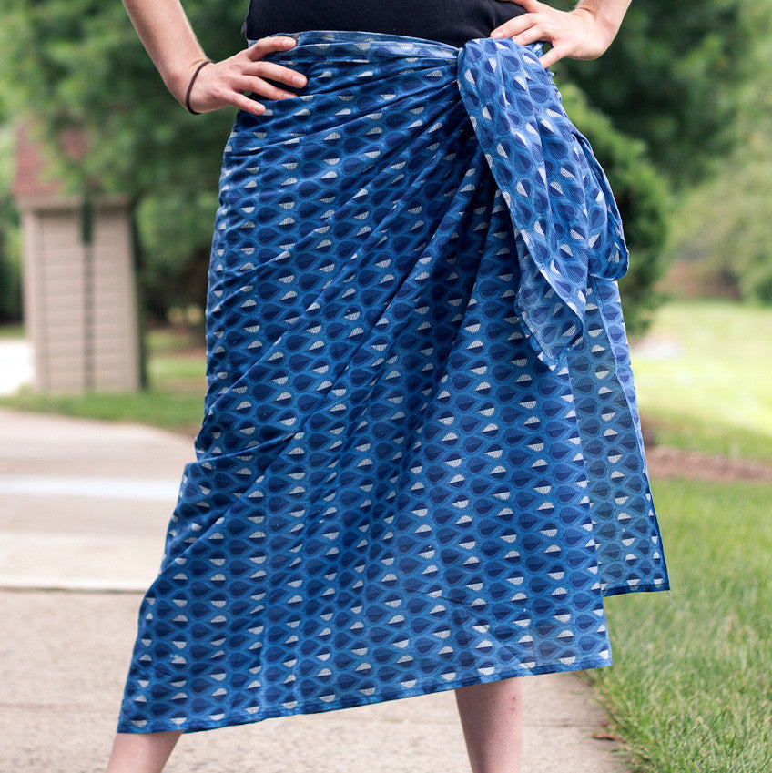 Berry Punch Sarong by Sustainable Threads