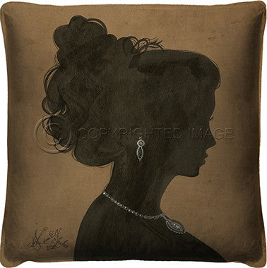 10101 Silhouette 2 Pillow