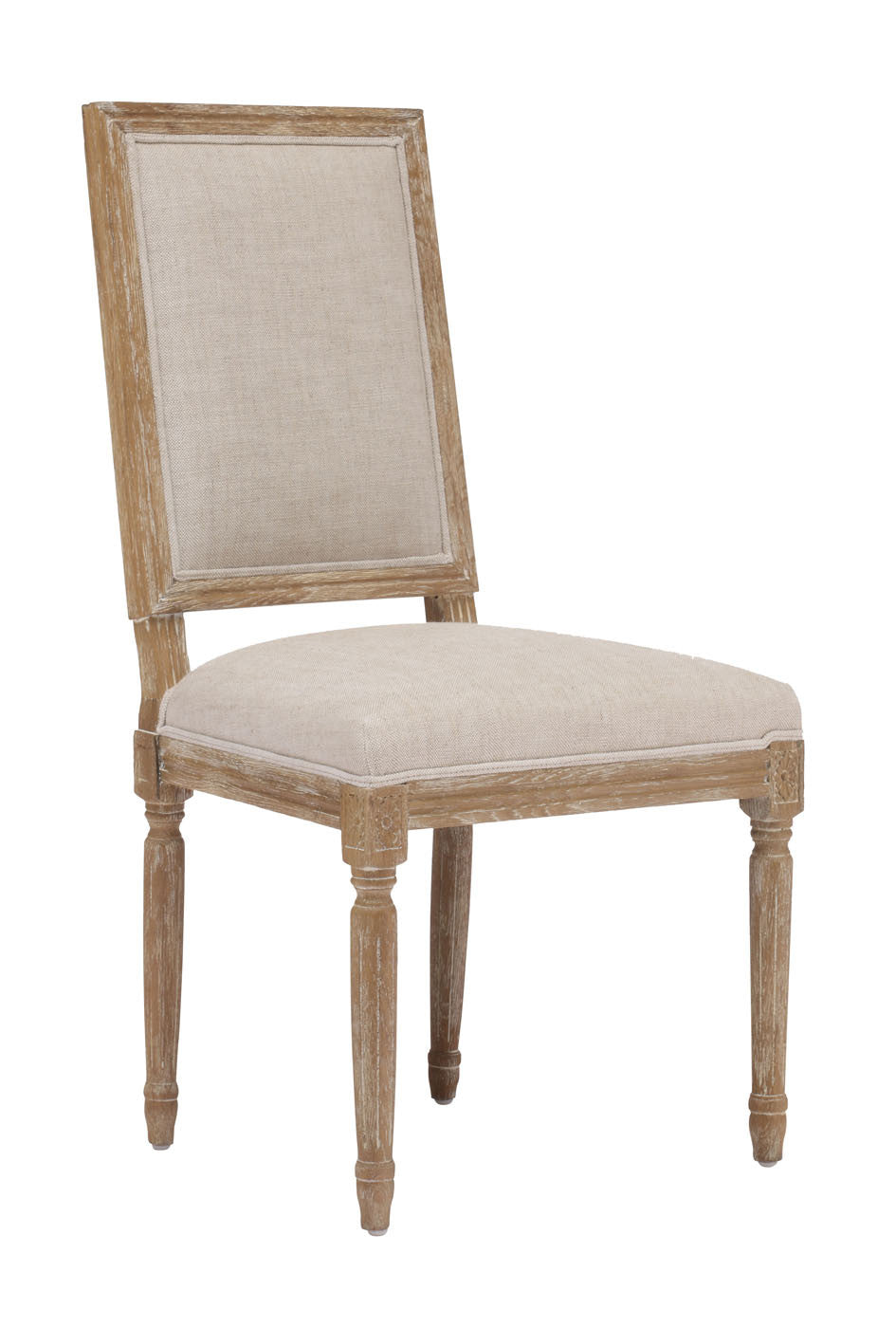 Cole Valley Dining Chair Beige (Set of 2)