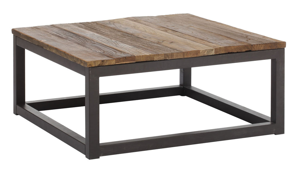 Civic Center Square Coffee Table Distressed Natural