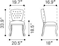 Leavenworth Dining Chair Brown (Set of 2) 1