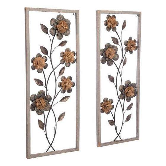 Daisy Set of 2 Wall Decor