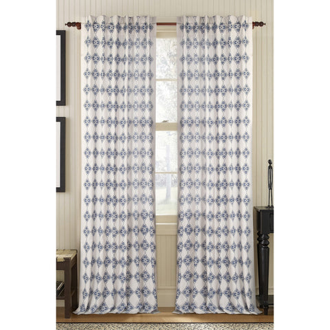 Exotic Linen/Cotton Drapes - White