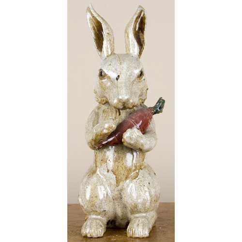 "16"" Bunny with Carrot by Oriental Danny"