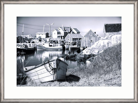 IP14438 Stone Harbor II Framed Art