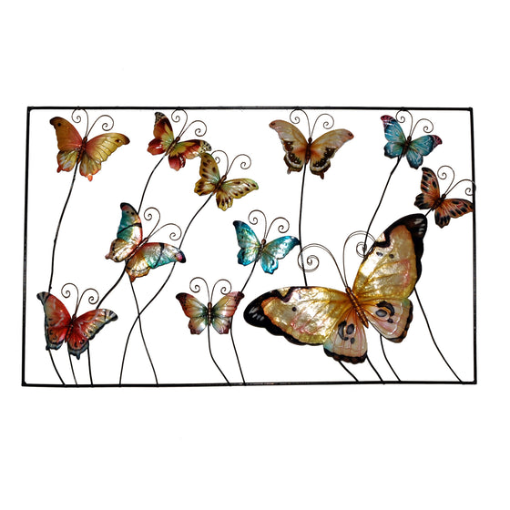 Framed Butterflies Wall Art