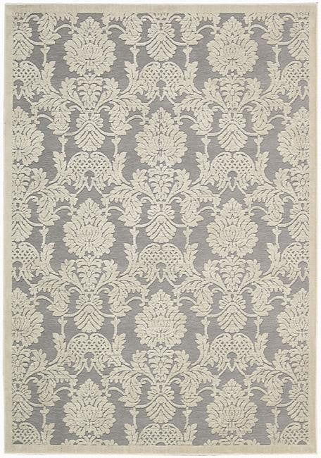 Graphic Illusions GIL03 Nickle Area Rug By Nourison
