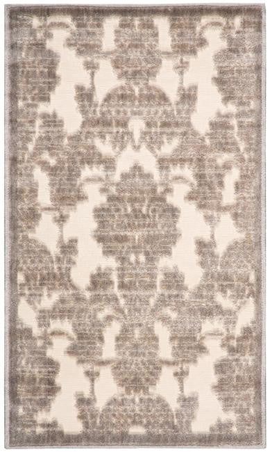 Graphic Illusions GIL03 Ivory Latte Area Rug By Nourison