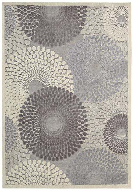 Graphic Illusions GIL04 Grey Area Rug By Nourison