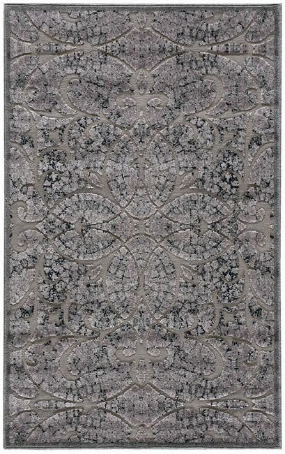 Graphic Illusions GIL05 Grey Area Rug By Nourison