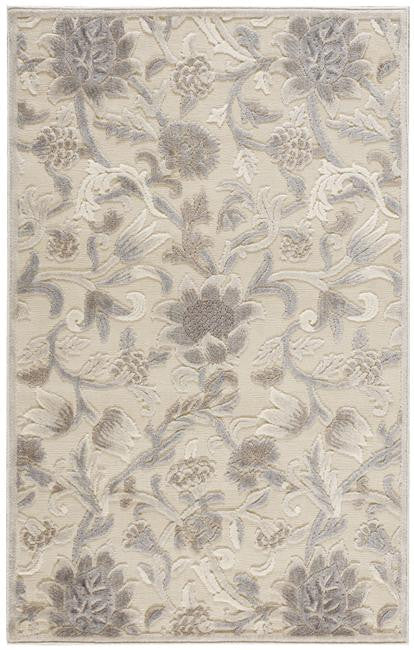 Graphic Illusions GIL06 Ivory Area Rug By Nourison