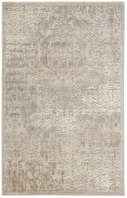 Graphic Illusions GIL09 Ivory Area Rug By Nourison