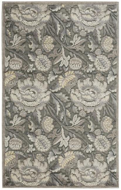 Graphic Illusions GIL10 Grey Area Rug By Nourison