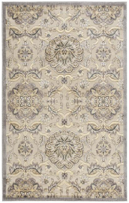 Graphic Illusions GIL12 Ivory Area Rug By Nourison