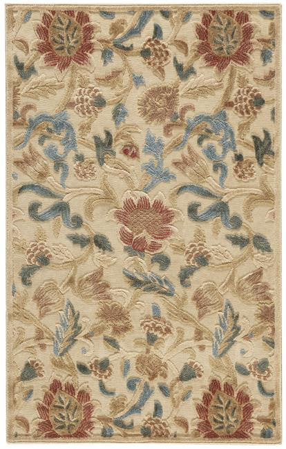 Graphic Illusions GIL06 Light Gold Area Rug By Nourison