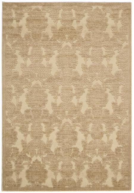 Graphic Illusions GIL03 Light Gold Area Rug By Nourison