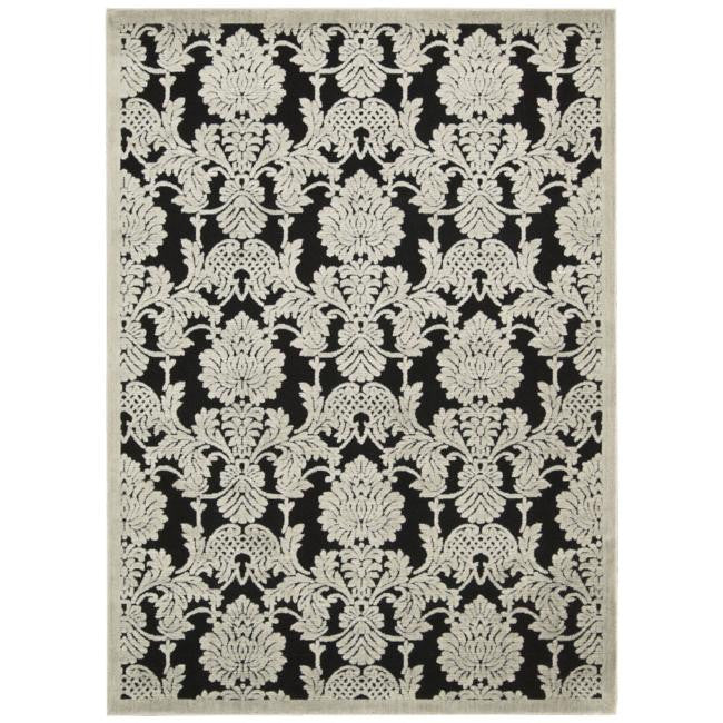 Graphic Illusions GIL03 Black Area Rug By Nourison