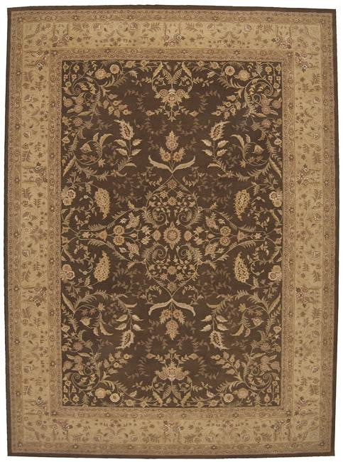Heritage Hall HE05 Brown Area Rug By Nourison