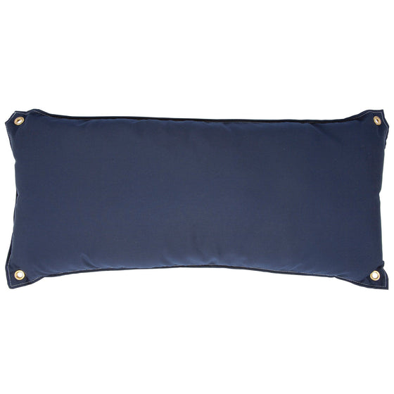 Traditional Hammock Pillow - Canvas Navy