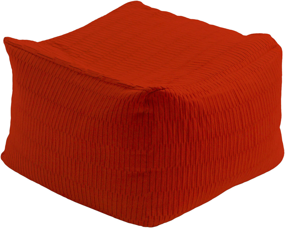 Caplin Cube Pouf CPPF-003 by Surya