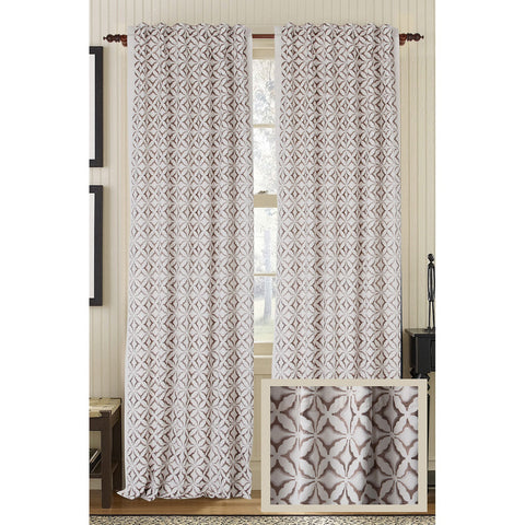 Frost Linen/Cotton Drapes - Ivory