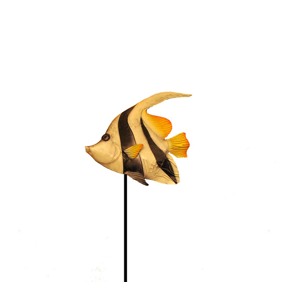 Garden Stake Angel Fish