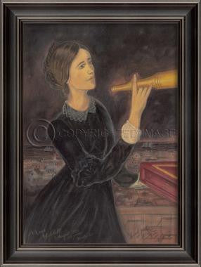 11092 LH Maria Mitchel Framed Art