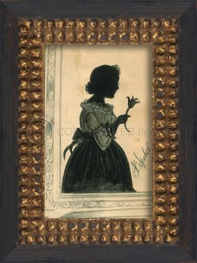 11146 NT Silhouette 05 Framed Art