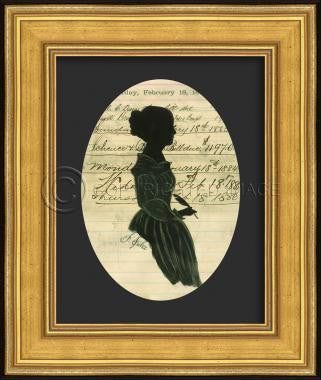 11154 GG Silhouette 03 Framed Art