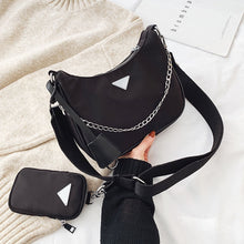 Load image into Gallery viewer, Women Crossbody Bag Causal Luxury Handbags Women Bags Designer With Mini Pocket Luxury Brand Female Shoulder Messenger Bag