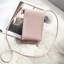 Load image into Gallery viewer, PU Leather Handbag for Women New Girl Messenger Bags with Fair Ball Tassel Fashion Female Shoulder Bags Ladies Party Handbags