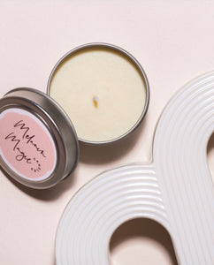 Apple Bottom Body Oil Candle