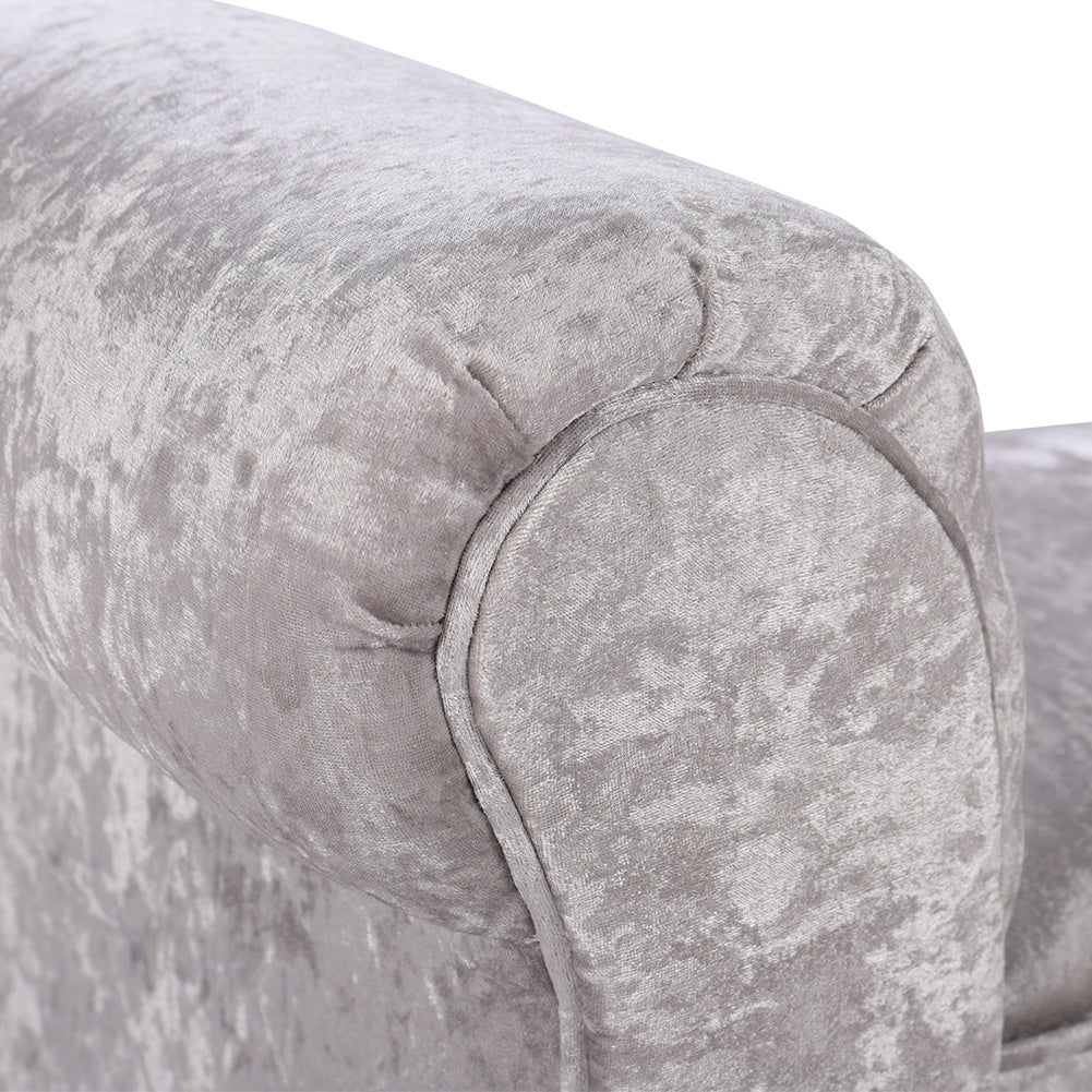 Bedend  Ice Crushed Velvet Hallway Side Couch Bench