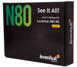 Levenhuk N80 NG Prepared Slide Set