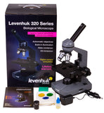 Levenhuk 320 Plus Compound Microscope - with Box