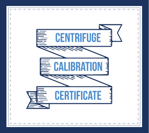 Centrifuge Calibration Certificate - LabEssentials, Inc.