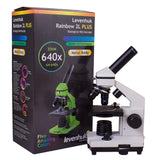 Levenhuk 2L Plus Microscope with Box