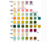 URS Color Chart