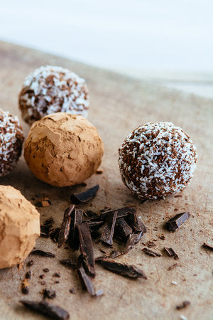 Fig and cacao Paleo Power Balls