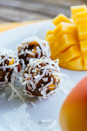 Coconut Mango Paleo Power Balls