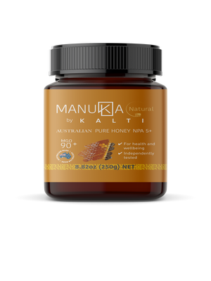 Open image in slideshow, Kalti Australian Manuka Honey NPA5+ / MGO 90+